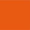 bi-elastisches Mikrofaserjersey, atmungsaktives Funktionsmaterial für Fitness und Turnen in tangerine