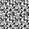 Bedrucktes Lycra, Leggingmaterial, Badehosenmaterial, Lycra print abstrakt in schwarz-weiß