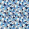 Bedrucktes Lycra, Leggingmaterial, Badehosenmaterial, Lycra print abstrakt in blau-weiß