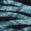 schwarzer elastischer Samt mit Glitzer