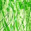 grüner elastischer Samt mit Glitzer