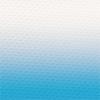 Bedruckter elastischer Tüll mit Ombré Farbverlauf hellblau-weiß