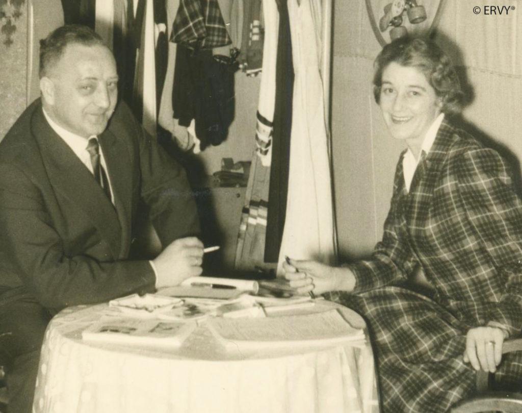 Firmengründung von ERVY 1948 von Alexander von Marosfalvy