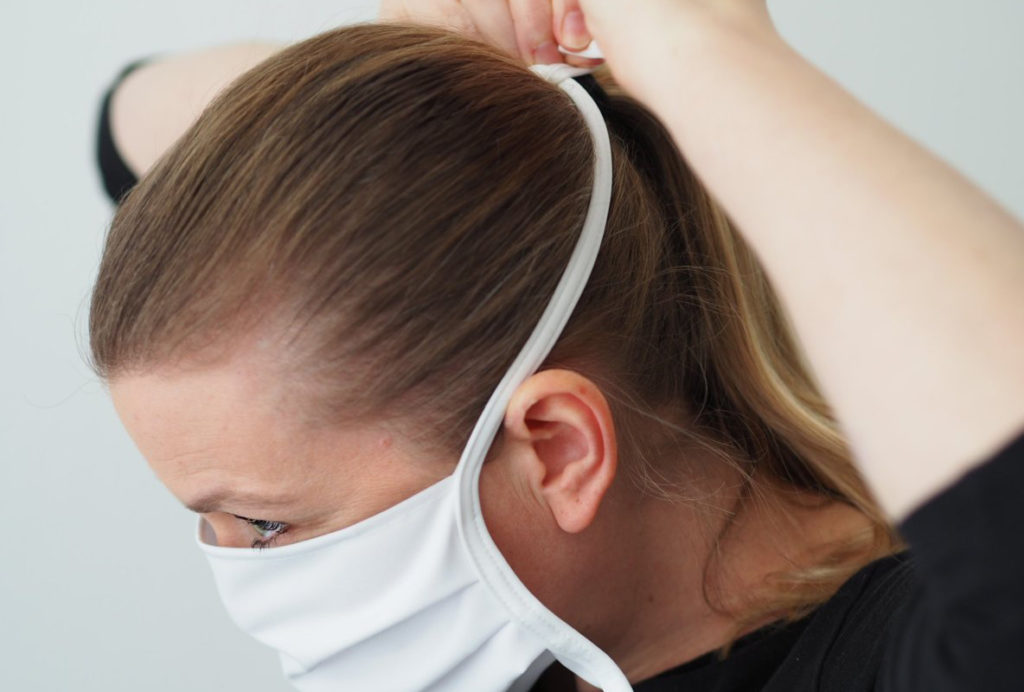 nachhaltige waschbare Mund-Nasen-Maske vom deutschen Hersteller ERVY