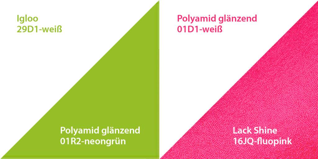 richtige Pflege von Neonstoffen mit starken Farbkontrast vom deutschen Hersteller ERVY
