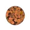 ERVY Turnanzug Veredelung mit Pailletten in der Farbe holo-orange