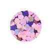 ERVY Turnanzug Veredelung mit Pailletten in der Farbe holo-rose