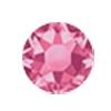 ERVY Turnanzug Veredelung mit Strasssteinen in der Farbe Rose