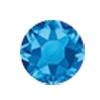 ERVY Turnanzug Veredelung mit Strasssteinen in der Farbe Sapphire