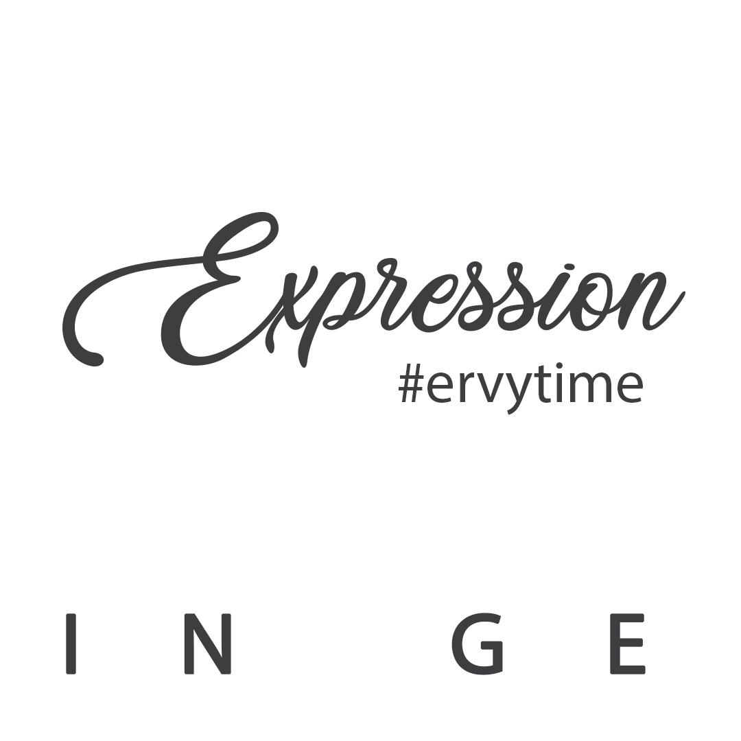 geschwungener Schriftzug Expression vom ERVY