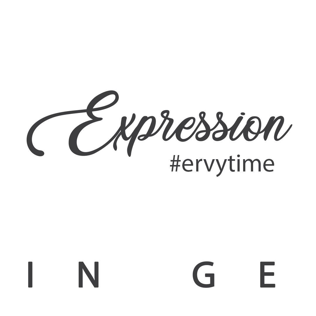 Expression Schriftzug ERVY